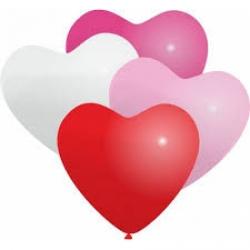 Сердца 12 дюйм с обработкой латексные