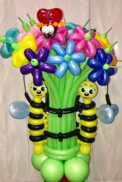 Букет пчелки