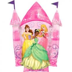 """Принцессы Замок, 35""""/88*66 см"""
