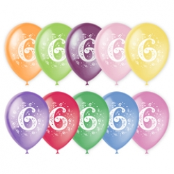 шары с цифрами от 1 до 10