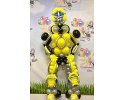 Робот Трансформер,глаза с подсветкой