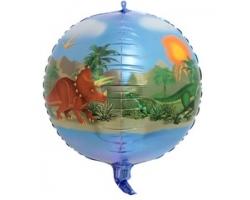 Сфера 3D, Динозавры, 24''/61 см