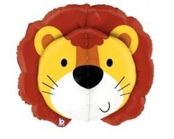 """Фигура Голова льва 3D, 30""""/76см"""