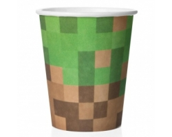 Стаканы (250 мл) Пиксели, 6 шт.