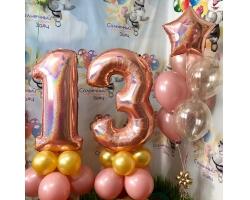 Набор №120 розовое золото
