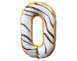 """Фигура Цифра 0 Пончик 40""""/102см"""