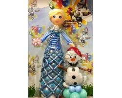 Эльза декоративная со снеговиком