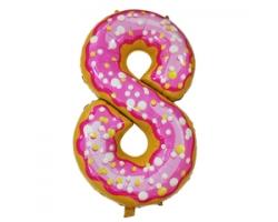 """Фигура Цифра 8 Пончик 40""""/102 см"""