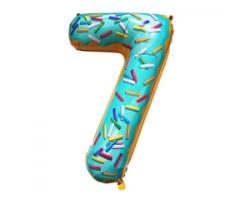 Фигура Цифра 7  Пончик 102см