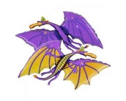 Фигура Дракон фиолетовый