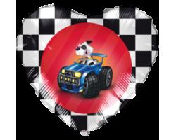 Сердце с машинкой