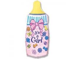 Бутылочка для девочки с гелием