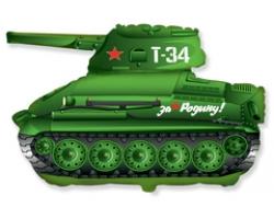 Танк T-34 Зеленый, 31''/79 см