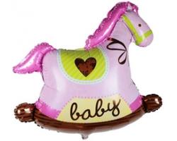 Лошадка для девочки с гелием
